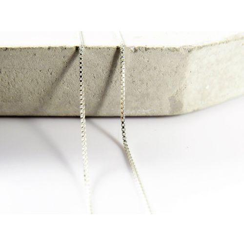 Megasilver Srebrny (925) łańcuszek kostka 50cm