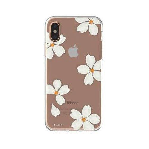 Flavr Etui iplate white petals do apple iphone x wielokolorowy (30041) (4029948065847)
