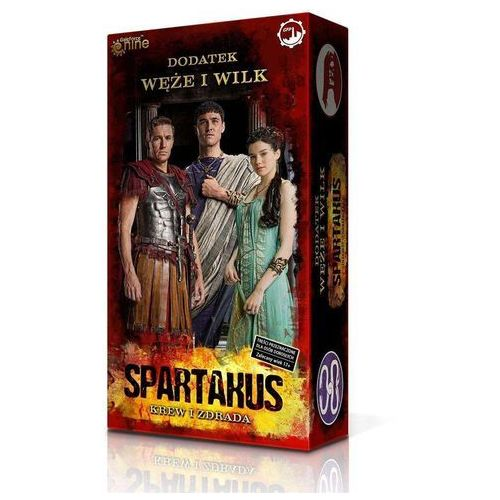 Spartakus Krew i Zdrada Widmo Śmierci - Games Factory Publishing (5906395371181)