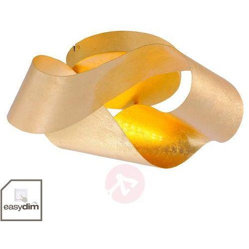Błyszczący kinkiet LED Nevis w kolorze złota (4012248323823)
