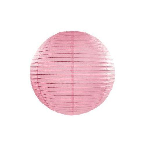 Lampion Kula różowy - 35 cm - 1 szt. (5901157496867)