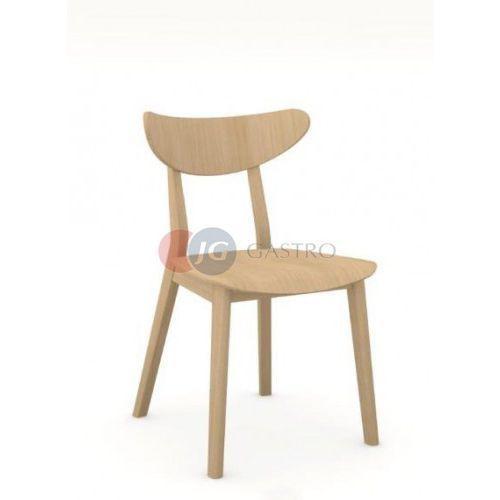 Krzesło bez podłokietnika dąb a-4230 lofd marki Paged