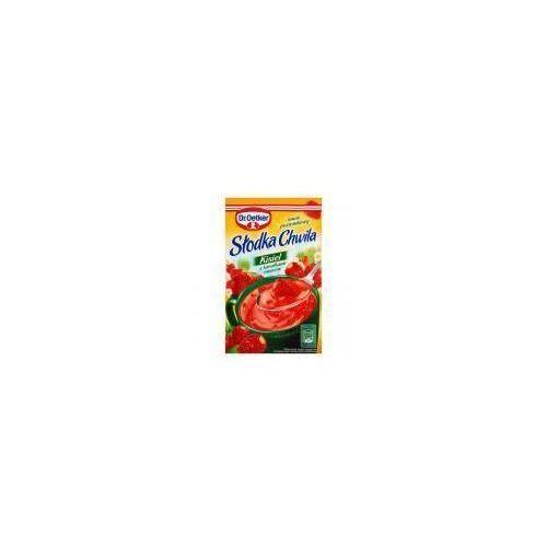 Kisiel z kawałkami owoców smak poziomkowy Słodka Chwila 31,5 g Dr. Oetker