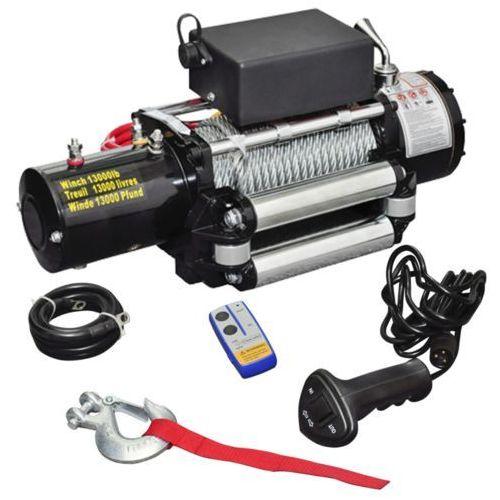 wyciągarka elektryczna, udźwig: 5909 kg, silnik: 12v. od producenta Vidaxl