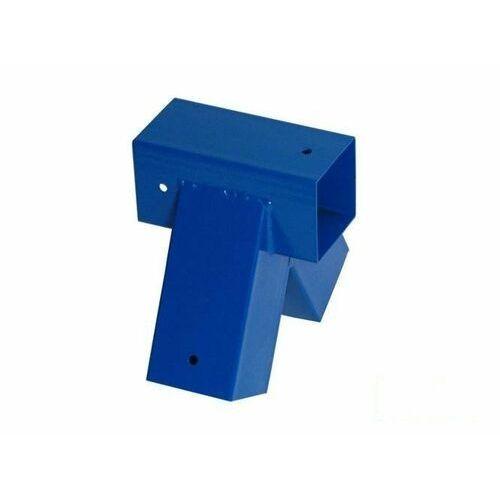 Łącznik do belki 90x90 mm, 90° - niebieski