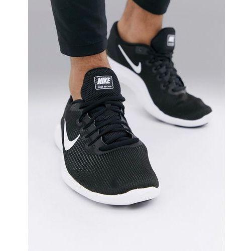 flex 2018 trainers in black aa7397-018 - black, Nike running
