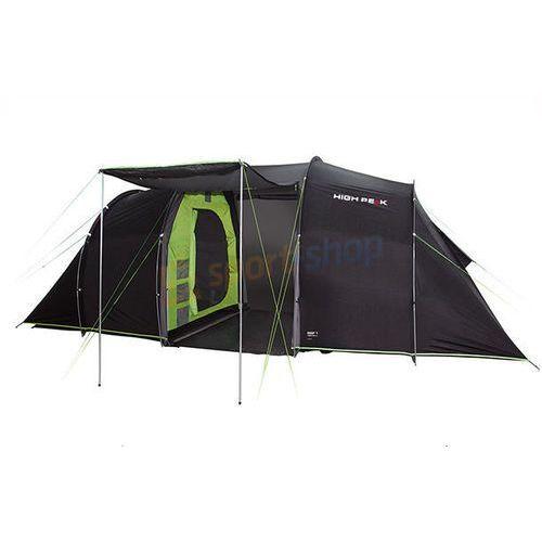 Namiot 4-osobowy turystyczny tauris 4 (ciemnoszary) marki High peak
