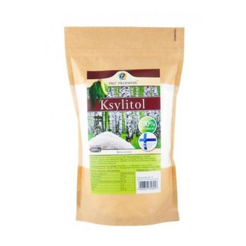 Ksylitol (Finlandia) 1 kg Pięć Przemian