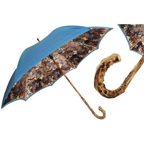 Parasol nature with broom wood handle, podwójny materiał, 397 58637-17 g marki Pasotti