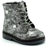 Dziecięce buty zimowe 06216 srebrne marki Kornecki