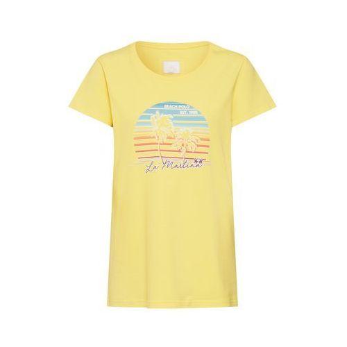 koszulka 'woman t-shirt s/sl stretch cot' żółty, La martina, 34-44