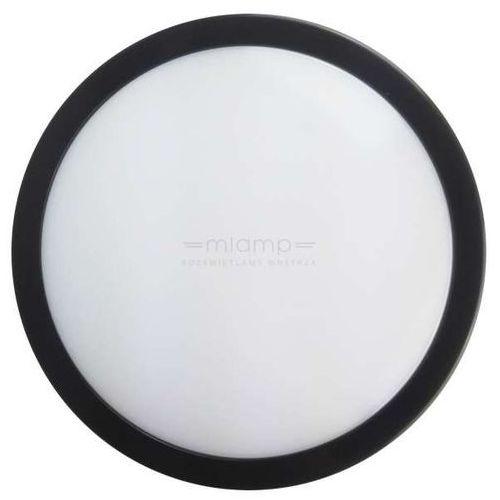 Plafon LAMPA sufitowa EK705 Eko-light okrągła OPRAWA kinkiet LED 12W ścienny IP65 czarny biały, EK705