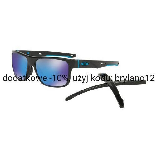 Oakley Okulary crossrange polished black prizm sapphire oo9361-1357