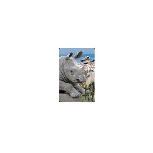 Mini kartka 3d nosorożec marki Worth keeping