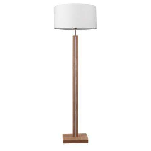 Spot light asseto 6571174 lampa podłogowa stojąca 1x60w e27 + 36w led 3000k dąb / beżowy