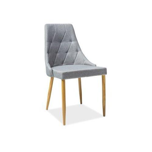 Krzesło metalowe SIGNAL TRIX II szary, kolor szary
