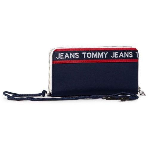 Tommy jeans Duży portfel damski - tjw logo tape lrg za wallet cb aw0aw08264 0f4