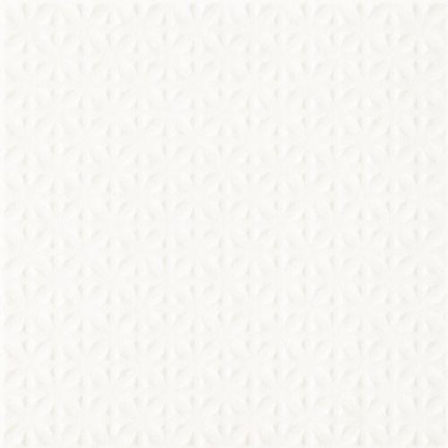 Paradyż  inwest biały struktura płytka podłogowa 19,8x19,8 (5900144053687)