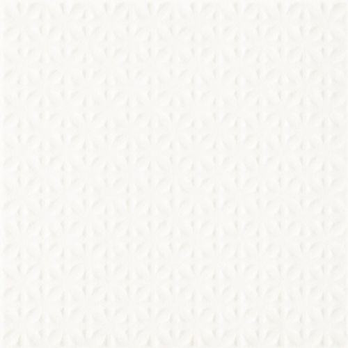 Paradyż Płytka podłogowa gammo biały struktura 19,8x19,8 (5900144053687)