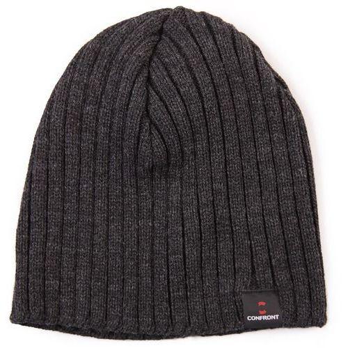 czapka zimowa k pax black 110, marki Confront
