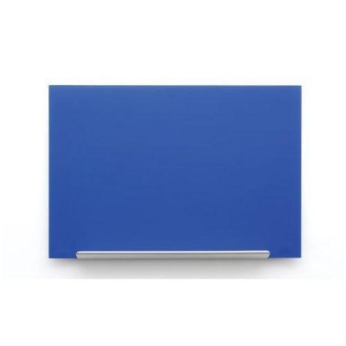 Tablica szklana diamond 1883x1053 niebieska marki Nobo