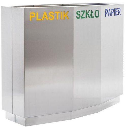 Kosz do segregacji odpadów 80l marki Xxlselect