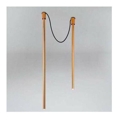 Downlight lampa sufitowa alha y 9199 metalowa oprawa sople tuby miedź marki Shilo