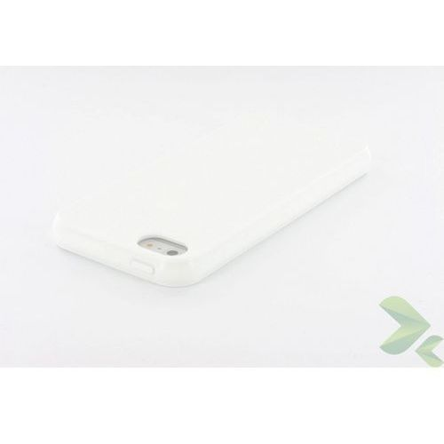 Geffy  - etui iphone 5/5s tpu solid color white odbiór osobisty w ponad 40 miastach lub kurier 24h