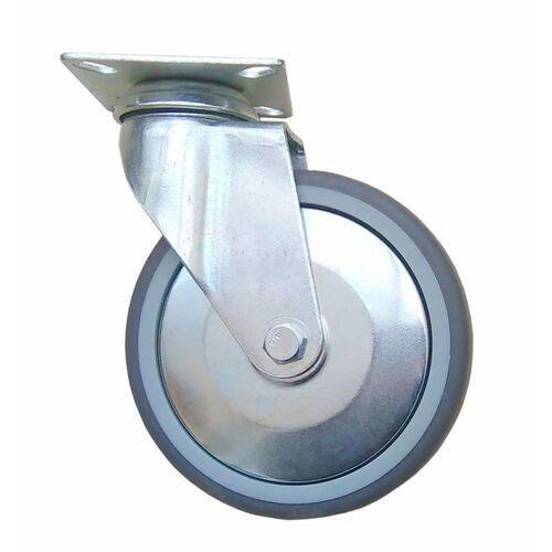 Koło kółko fi 125 mm skrętne obrotowe bez hamulca. Nośność 120 kg.