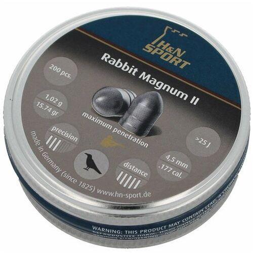 H&n sport Śrut diabolo h&n rabbit magnum ii 4.5mm 200szt (92254500003) (2010000036358)