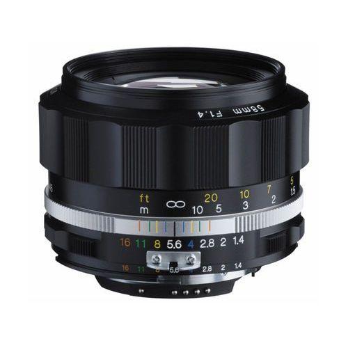 Voigtlander 58mm F/1.4 NOKTON CZARNY (NIKON F)