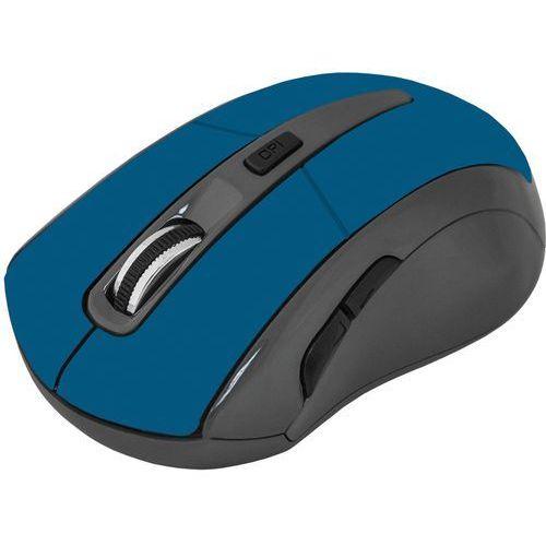 Mysz bezprzewodowa Defender ACCURA MM-965 optyczna 1600dpi 6P niebieska (4714033529679)