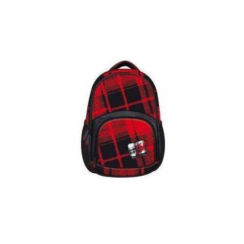 Plecak młodzieżowy MTV czerwono-czarny