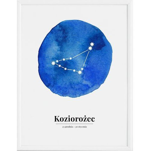 Plakat Zodiak Koziorożec 40 x 50 cm