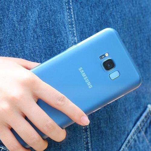 Etui Benks Lollipop 0.4mm Galaxy S8 Blue, kolor niebieski