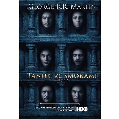 Taniec ze smokami Tom 2 - George R. R. Martin (684 str.)