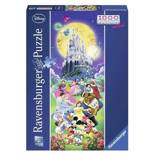 Ravensburger - zamki disneya - puzzle, 1000 elementów - ravensburger