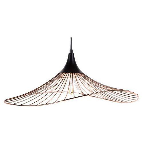 Lampa wisząca metalowa miedziana mazaro marki Beliani