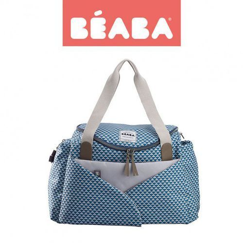 torba dla mamy sydney play print blue marki Beaba