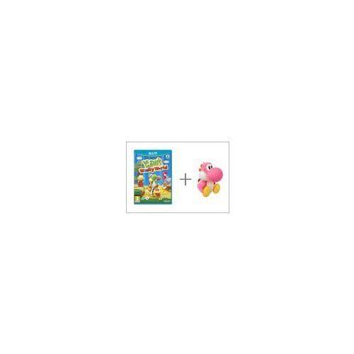 Yoshi's woolly world + amiibo yarn yoshi pink wiiu marki Nintendo