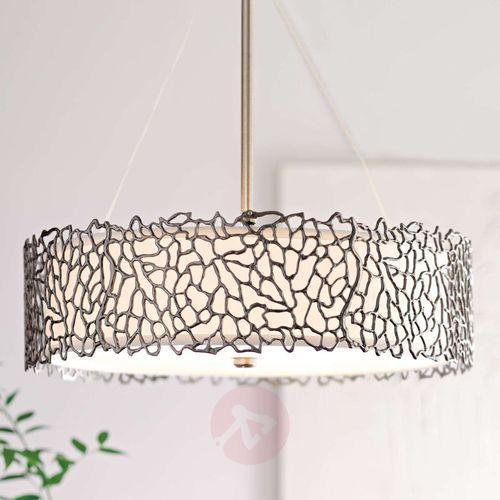 Lampa wisząca SILVER CORAL KL/SILCORAL/P/B - Elstead Lighting - Rabat w koszyku, KL/SILCORAL/P/B