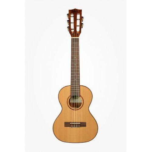 KALA Solid Cedar Acacia 5-String Ukulele tenorowe + Case (UC-T)