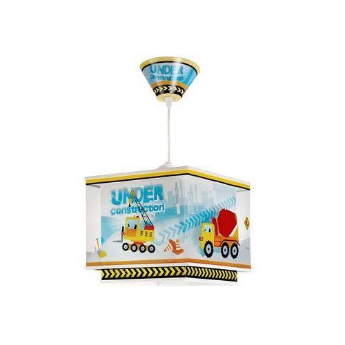 Klik 63612 - Dziecięca lampa wisząca CONSTRUCTOR 1xE27/60W/230V, NR. 63612