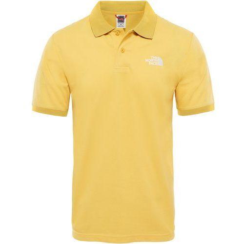 Koszulka The North Face Polo Piquet T0CG7170M, kolor żółty