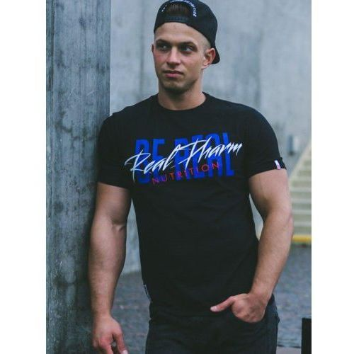 Realpharm Real wear t-shirt be real neon
