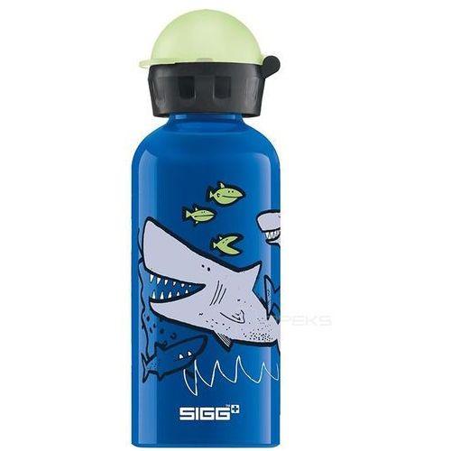 Sigg kids sharkies butelka / bidon 0.4l dla dzieci - sharkies