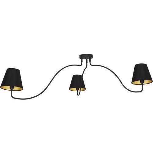 Nowodvorski Plafon swivel 6558 lampa sufitowa 3x40w e14 czarny (5903139655897)