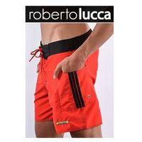 Mȩskie szorty rl13039 milano red/black marki Roberto lucca
