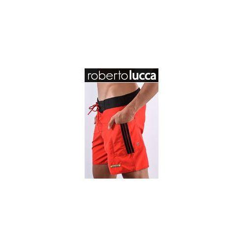 Roberto lucca Mȩskie szorty rl13039 milano red/black