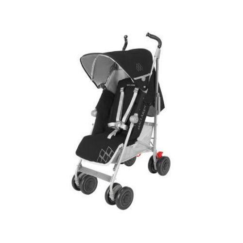 Maclaren  wózek spacerowy techno xt black/silver, kategoria: wózki spacerowe